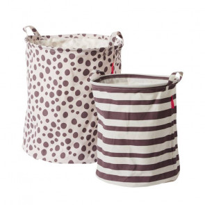 Done by Deer Soft Storage Basket Powder (2 pieces)