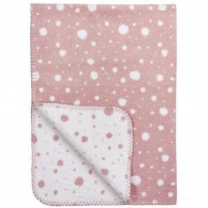 Meyco Cot Blanket Dots Classic Pink - White 120x150cm