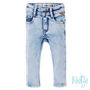 Feetje Light blue slim fit denim boys 74