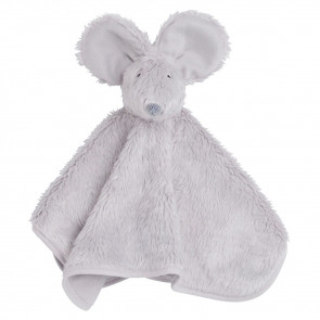 Baby's Only Cuddle Cloth Mouse Silver Gray
