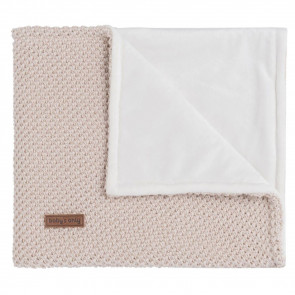 Baby's Only Cot Blanket Soft Sparkle Gold-Ivory Blended