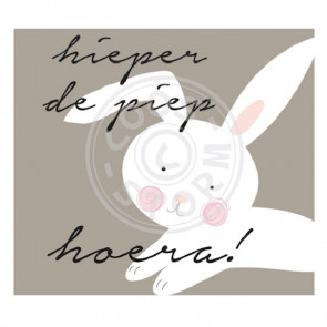 Greeting Card 'Hieperdepiep Hoera!' by Coos Storm