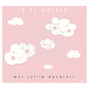 Greeting Card 'In de Wolken Dochter' by Coos Storm