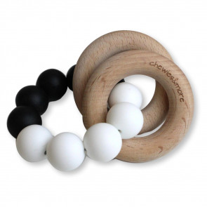 Basic Rattle Black / White