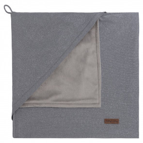 Baby's Only Wrapping Cloth Soft Sparkle Silver Grey