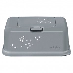 Funkybox Clay Grey Little Stars
