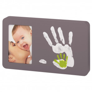 Baby Art Duo Picture Frame Taupe