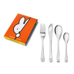 Zilverstad Cutlery Miffy 4 Piece Stainless Steel