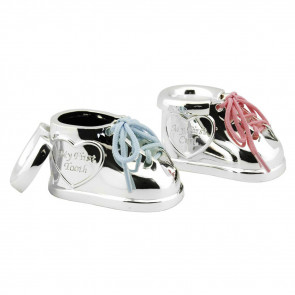 Zilverstad First Tooth/First Lock Treasure Box Shoes Silver Plated