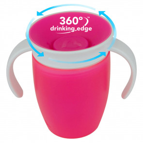 Munchkin Miracle Trainer Cup (207ml) Pink