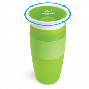 Munchkin Miracle Sippy Cup Big Green (414ml)
