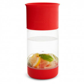 Munchkin Kid Miracle 360° Fruit Infuser Red