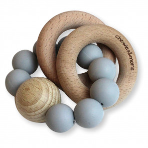 Chewie Rattle Light Grey