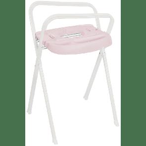 Bebe-Jou Click Bath Stand White/Pretty Pink 103 cm
