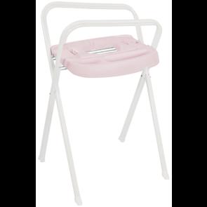 Bebe-Jou Click Bath Stand White/Pretty Pink 98 cm
