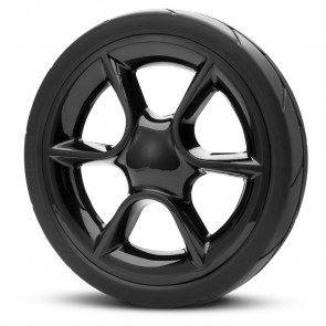 Quinny Moodd Rear Wheel Left Black Airless Complete