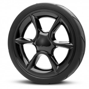 Quinny Moodd Rear Wheel Right Black Airless Complete