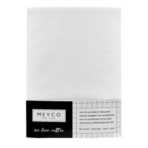 Meyco Molton Waterproof Fitted Sheet 60 x 120 cm