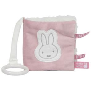 Nijntje Buggy Book Pink Baby Rib
