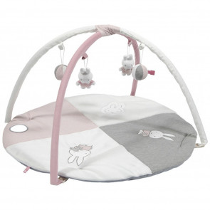 Miffy Play Mat With Arches Pink Baby Rib