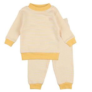 Feetje Pyjamas Waffle Ochre Yellow