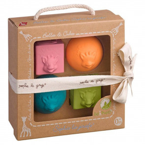 Sophie the Giraffe So'Pure Gift Box with Balls and Blocks