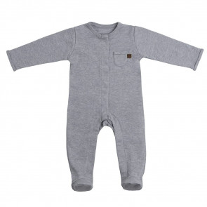 Baby's Only Play Suit with Feet Melange 56