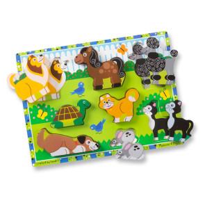 Melissa & Doug Wooden Puzzle Pets
