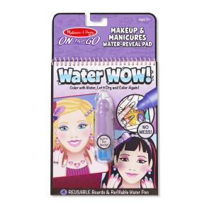 Melissa & Doug Water-WOW! Coloring Book Makeup & Manicures