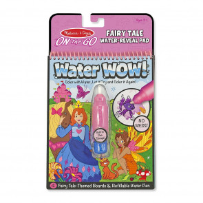 Melissa & Doug Water-WOW! Coloring Book Fairy Tales