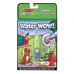 Melissa & Doug Water-WOW! Coloring Book Animals