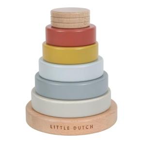 Little Dutch FSC Wooden Stacking Tower
