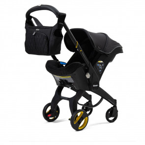 Doona Car Seat & Stroller Just Black Special Edition