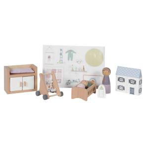 Little Dutch Extension Set Dollhouse Baby Room