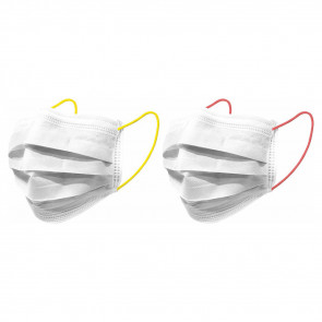 Nuby Mouth Masks Young Adults Neon Yellow/Orange 10pcs