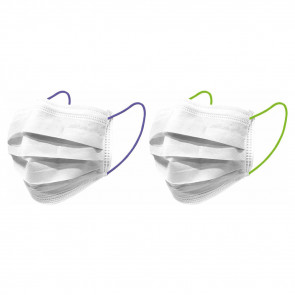Nuby Mouth Masks Young Adults Neon Blue/Green 10pcs
