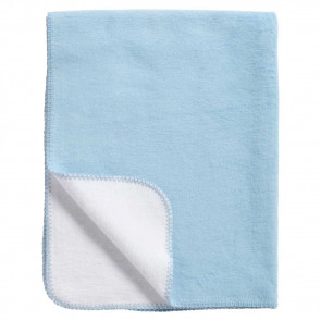 Meyco Blanket Cradle Double Face Blue/White