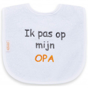 Funnies Bib Ik Pas Op Opa
