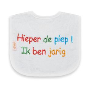 Funnies Bib Hieperdepiep Ik Ben Jarig