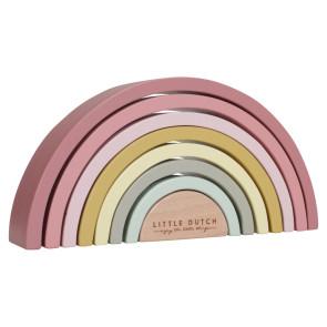 Little Dutch FSC Wooden Rainbow Pink