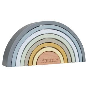 Little Dutch FSC Wooden Rainbow Blue
