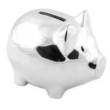 Zilverstad Money-Box Pig Silver Plated