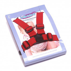 Babsana Safety Harness Nylon Red incl. Walk Line