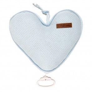 Baby's Only Music Box Heart Classic Powder Blue