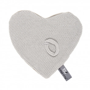 Baby's Only Pacifier Cloth Classic Silver Grey