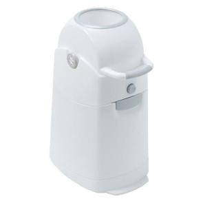Diaper Champ Regular Nappy Bucket White/Silver