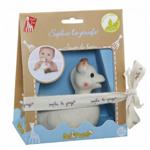 Sophie the Giraf So' Pure Bath Toy in Giftbox