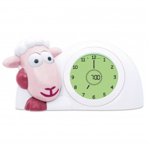 Zazu Sleeping Coach Sam The Sheep Pink