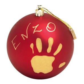 Baby Art Christmas Ball