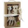 Sophie the Giraf + So' Pure Teether in a Giftbox with Ribbon
